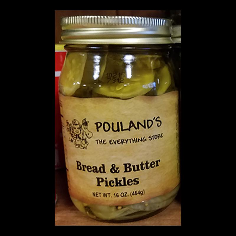 Pickles - Bread & Butter Pickles