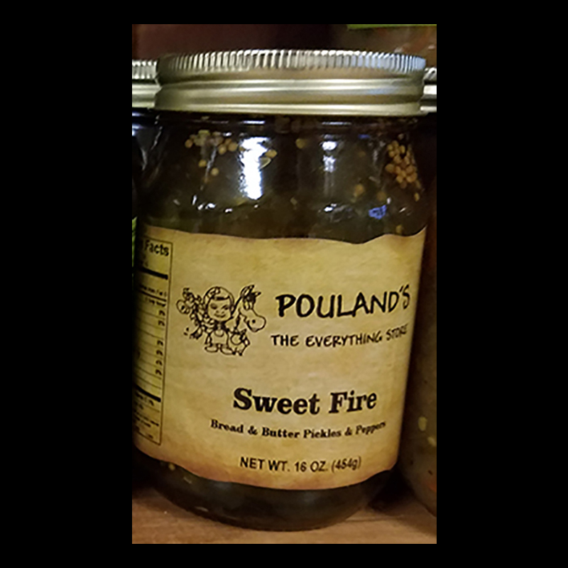Sweet Fire Bread an Butter Pickles and Peppers