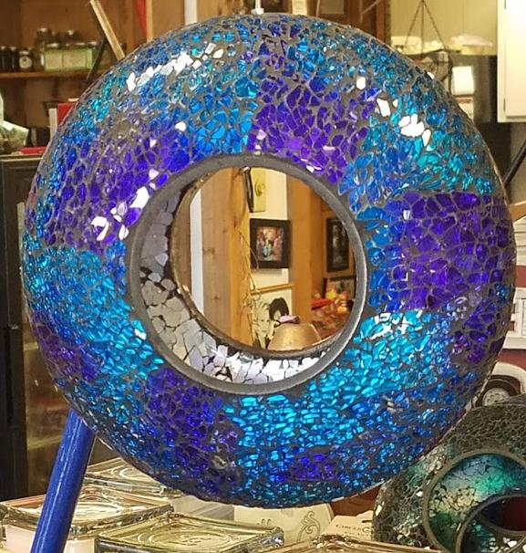 Birdfeeder - Glass Mosaic