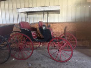 Surry - 2 Seater with Red Wheels