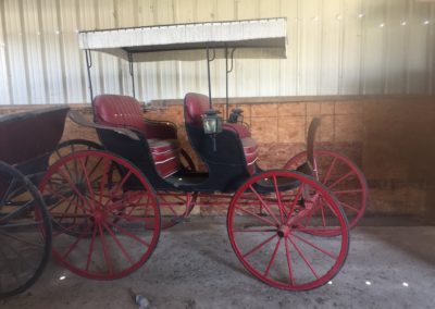 Surry - 2 Seater - with Red Wheels - $2,500