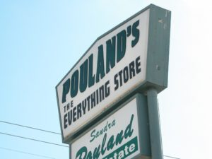 The Everything Store Sign