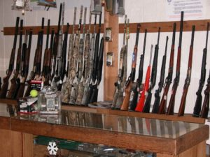 Hunting Rifles at The Pouland's Everything Store