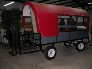 Trail Ride Wagon with BBQ and Potty - $10,000