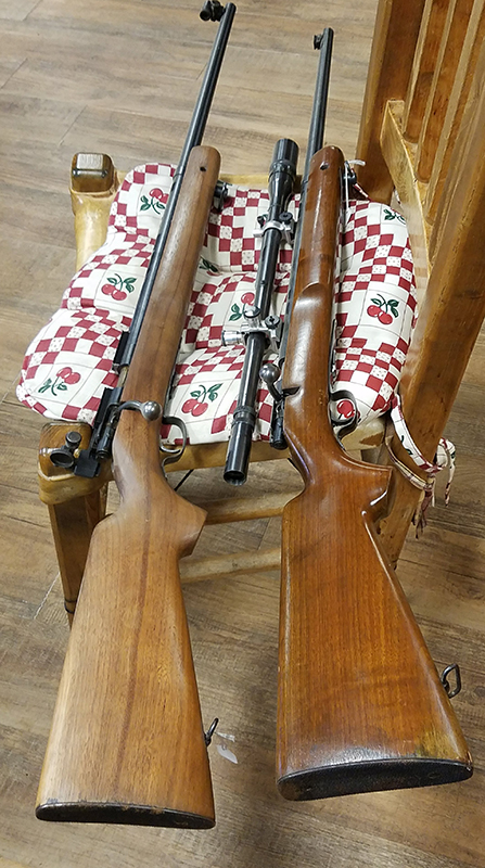 Rifle - Model 75 Winchester 22 Caliber without Scope