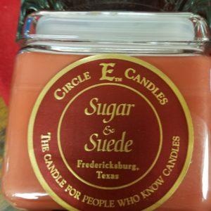 Candle Circle E Sugar &Suede