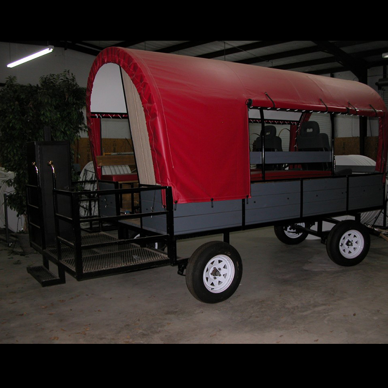 Trail Wagon with BBQ and Potty