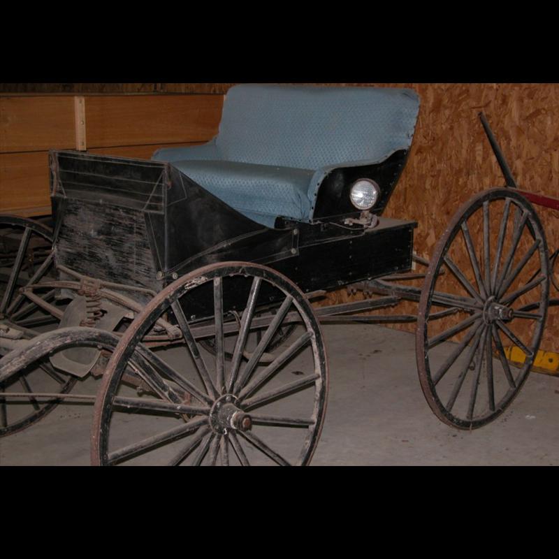 Amish Buggy - Black