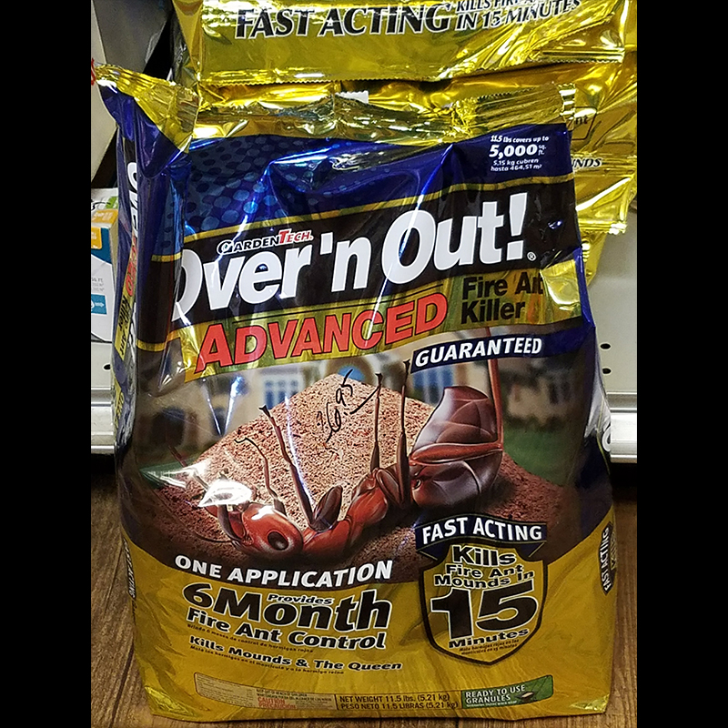 Fire Ant - Over and Out by Garden Tech