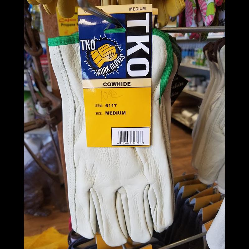 Gloves - Work Gloves - Cowhide- Medium