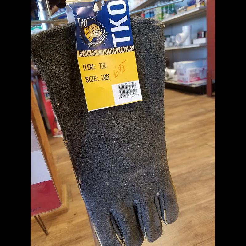 Gloves - Work Gloves - Regular Shoulder Leather - Large