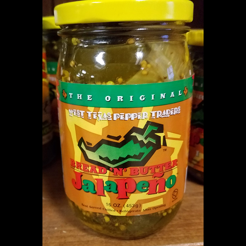 Jalepeno Bread & Butter Pickles