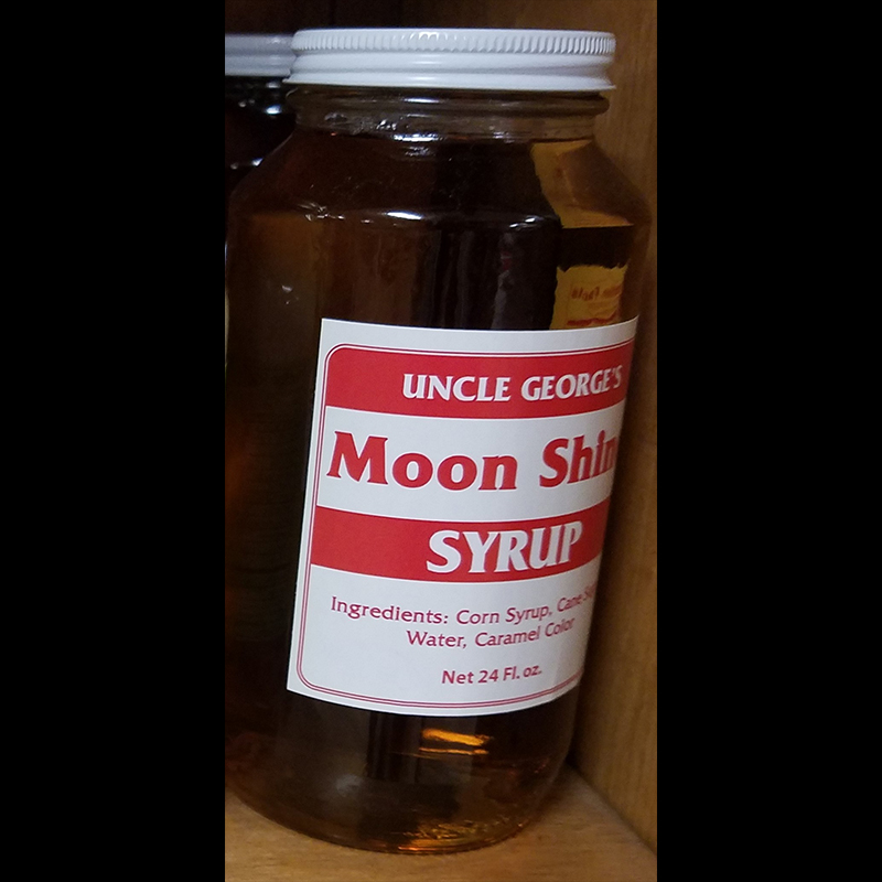 Moon Shine Syrup by Uncle George