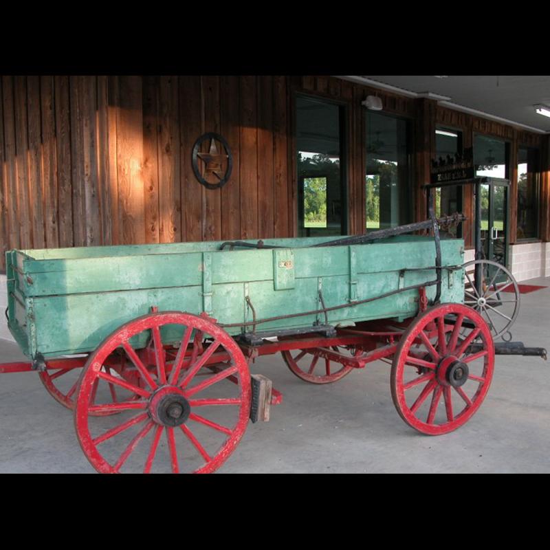 Yard Art Wagon