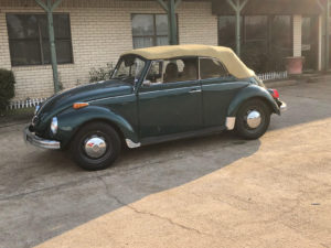73 VW Beetle Convertible