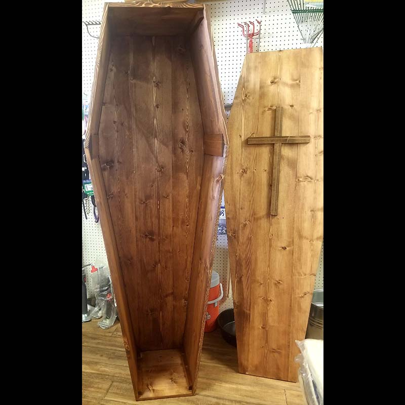 Coffin - Wood