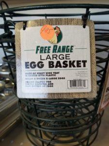 Large Free Range Egg Basket