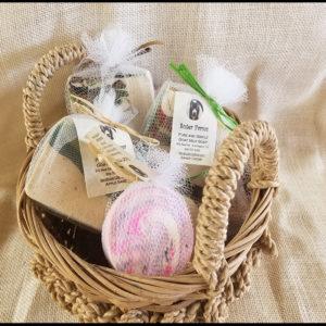Soap_Goat Milk Sutter Farms Basket